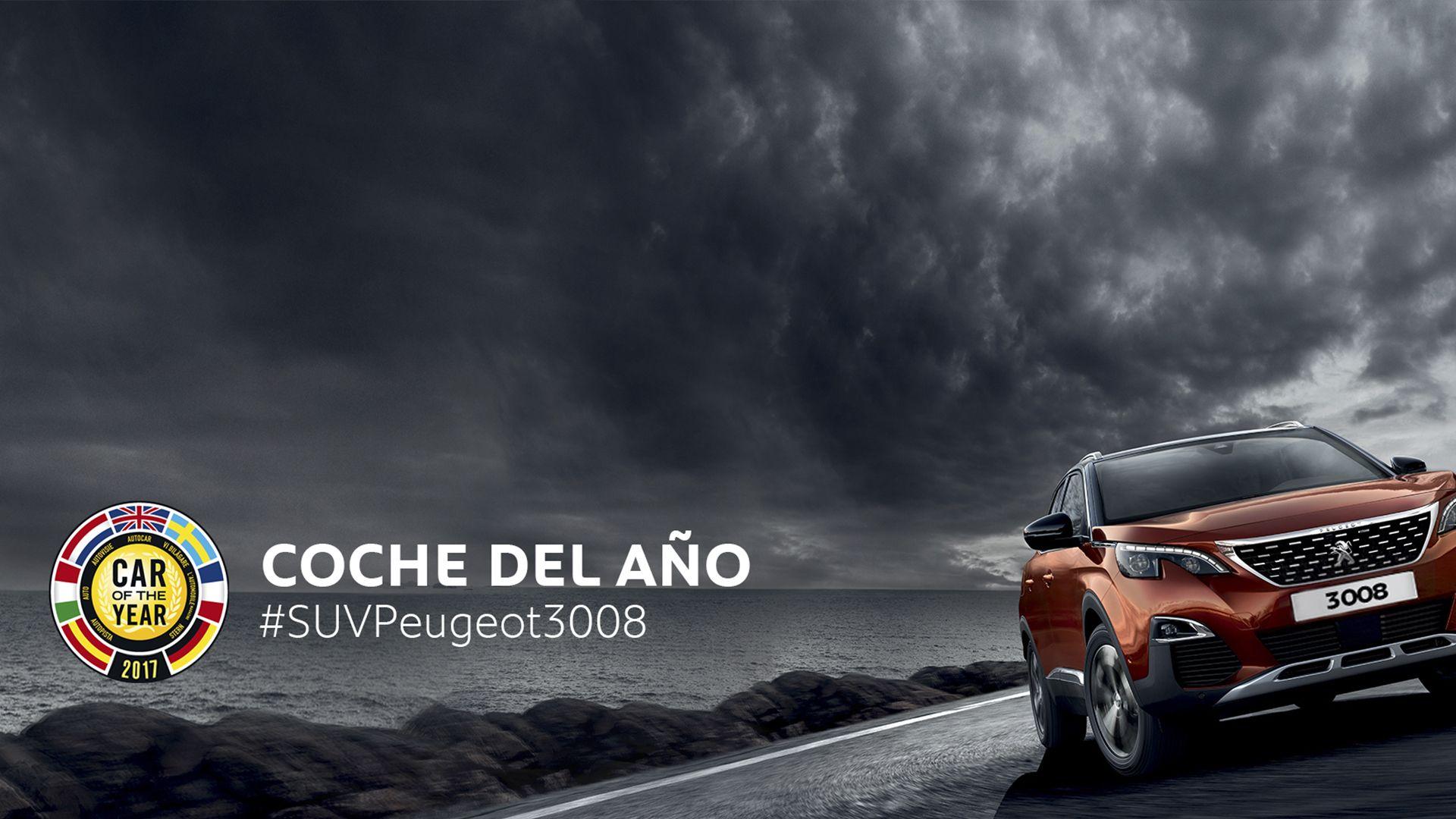 """El nuevo SUV Peugeot 3008, """"Coche del Año en Europa 2017"""""""