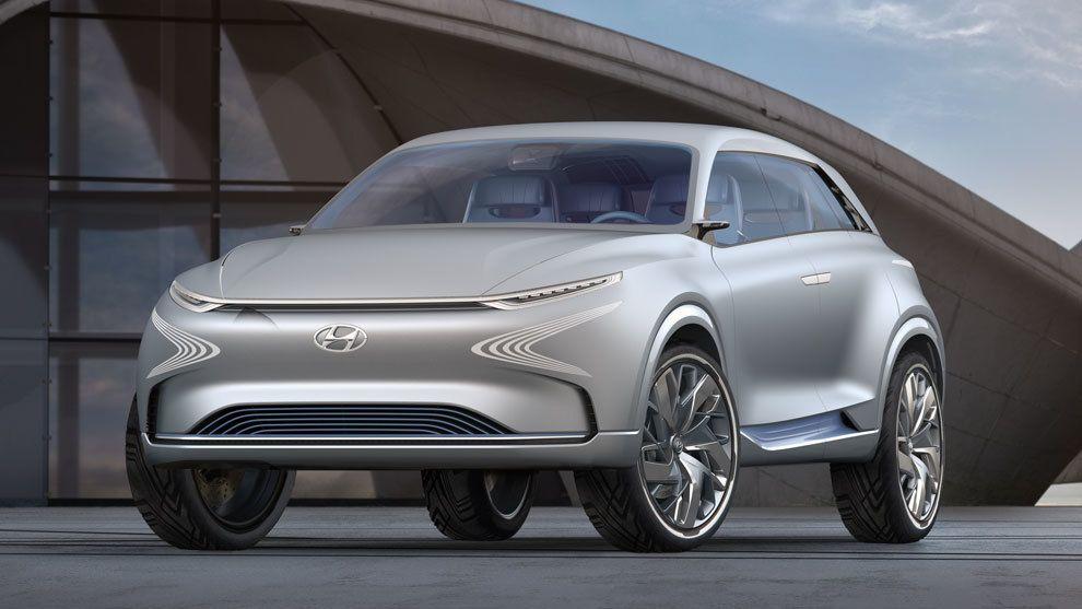 Hyundai FE Fuel Cell Concept, presentado en el Salón Internacional de Ginebra 2017.