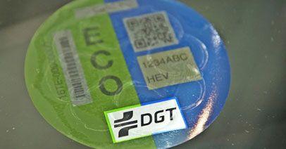 Estas son las etiquetas ECO que recibirás para tu coche