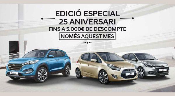Edición Especial 25 aniversario de Hyundai