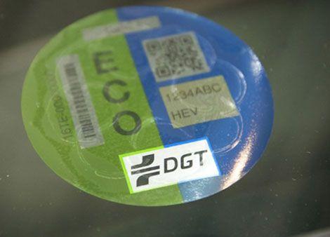 Ya están aquí las etiquetas ECO para tu coche