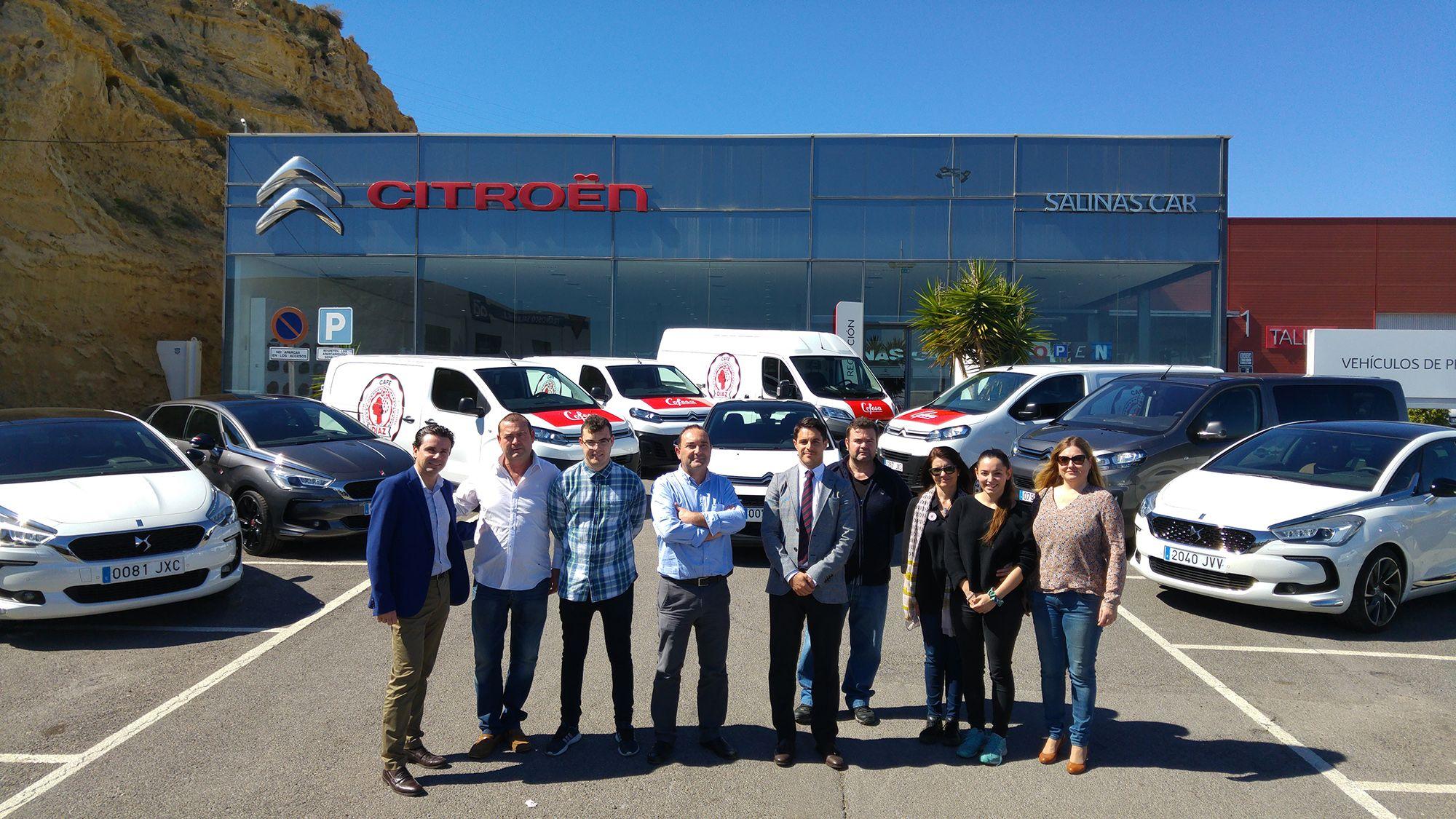Cofesa confía en Citroën Salinas Car para renovar su flota de vehículos