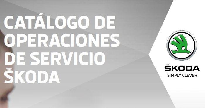 CATÁLOGO DE OPERACIONES DE SERVICIO 2018