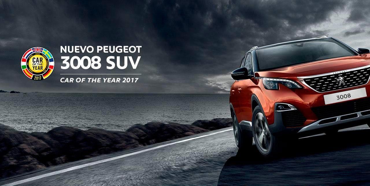 Configura el nuevo Peugeot 3008, coche del año en Europa 2017