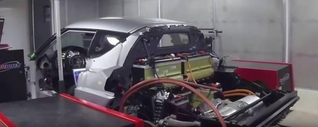 ¡Peligro alta tensión! Este Lotus Evora tiene el motor eléctrico de un Tesla y viene con 440 caballos