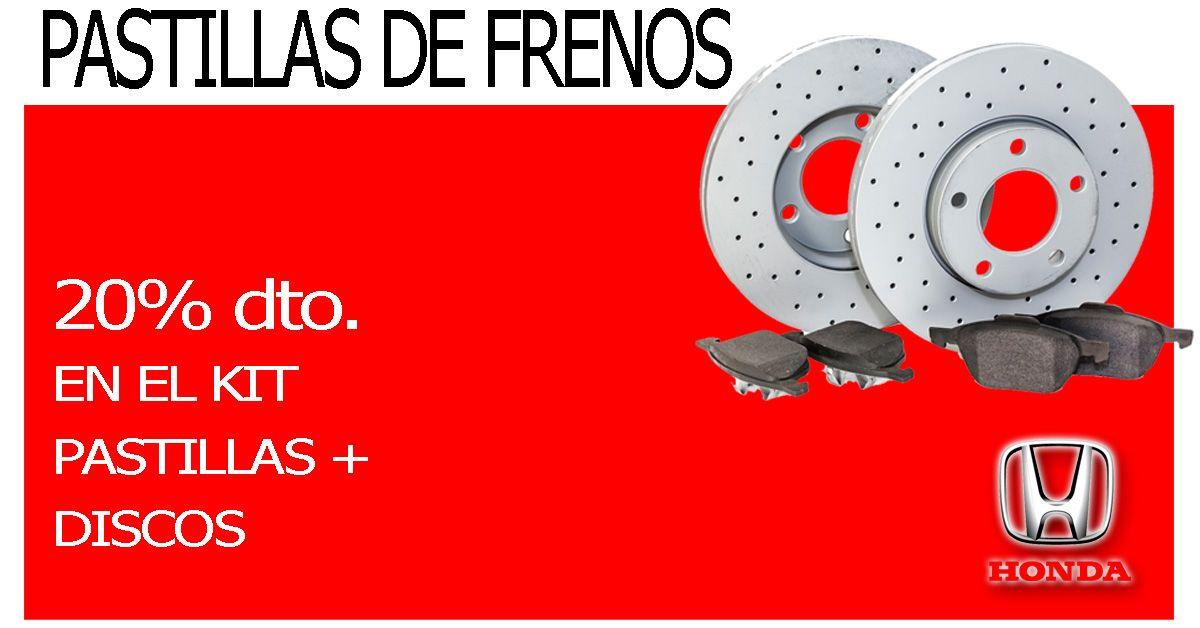 Oferta pastillas de frenos para tu coche en nuestros concesionarios de Ciudad Real y Toledo