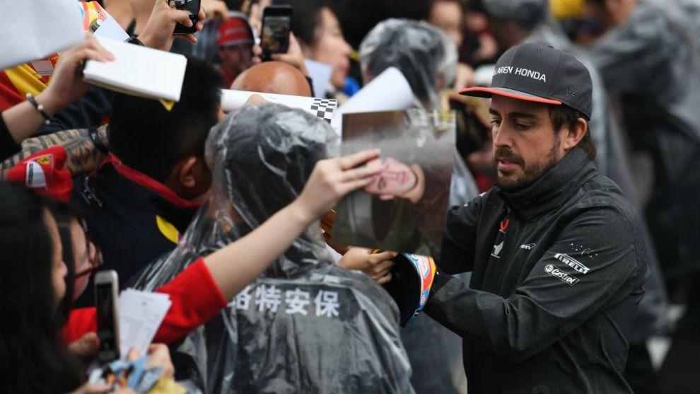 """Alonso: """"Prefiero estar aquí que en el supermercado de casa"""""""