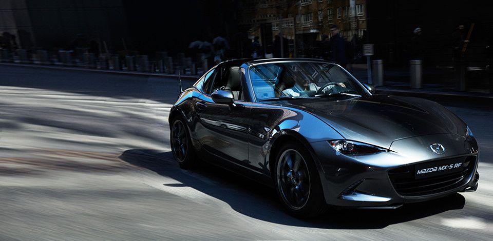 ¿Qué partes del cerebro estimula la conducción de un Mazda MX-5 RF?
