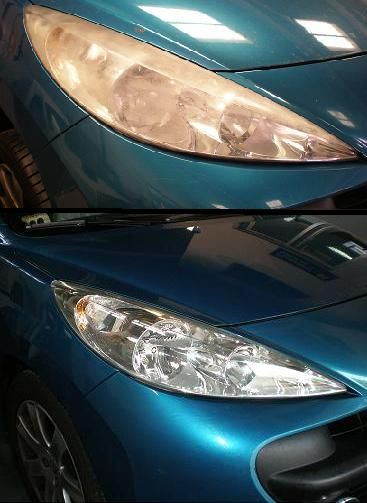 Por qué necesitas pulir los faros de tu vehículo