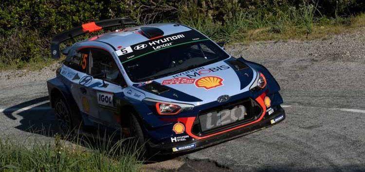 Hyundai i20 Coupé WRC ha sido el coche para conseguir la victoria en el Rally de Córcega 2017