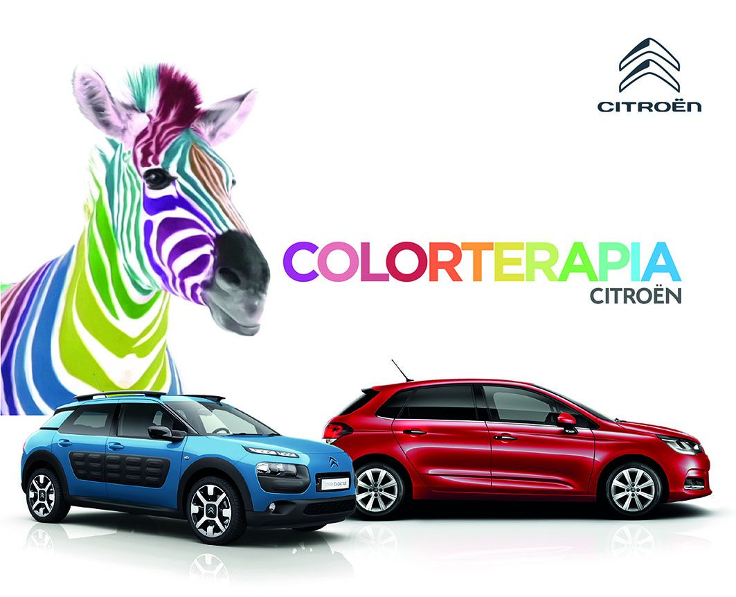 Este mes de abril sigue la Colorterapia en Citroën Salinas Car