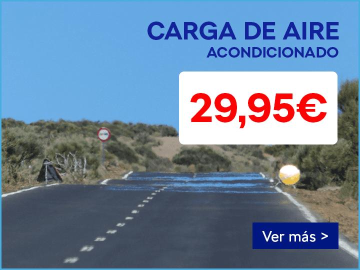 CARGA DE AIRE ACONDICONADO POR 29,95€