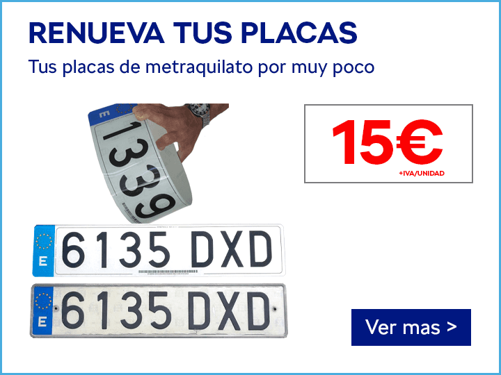 PLACAS DE METACRILATO