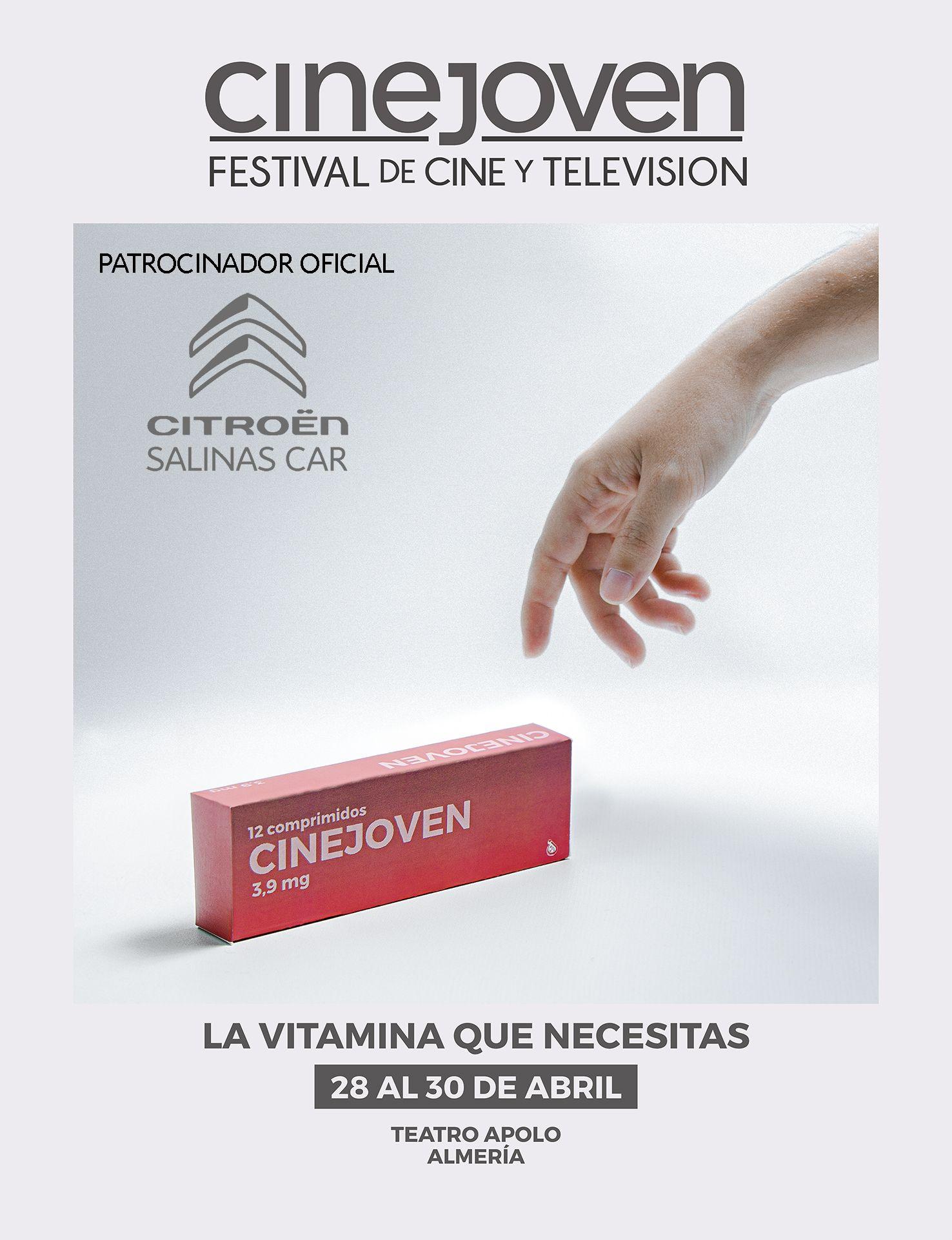 Citroën Salinas Car formará parte de la VII edición del Festival de Cine y Televisión Cinejoven