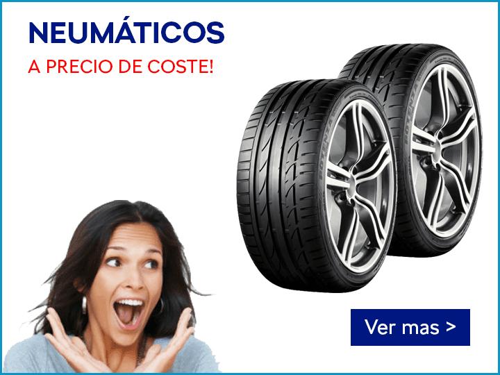 NEUMÁTICOS A PRECIO DE COSTE!