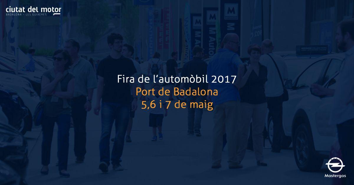 Opel Mastergas participará en la Feria del Automóvil Ciutat del Motor de Badalona