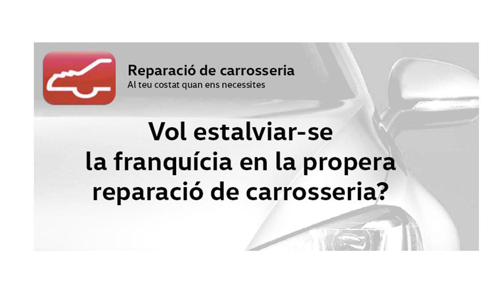 Traiga su coche a Reusmòbil i la franquicia le puede salir gratis.