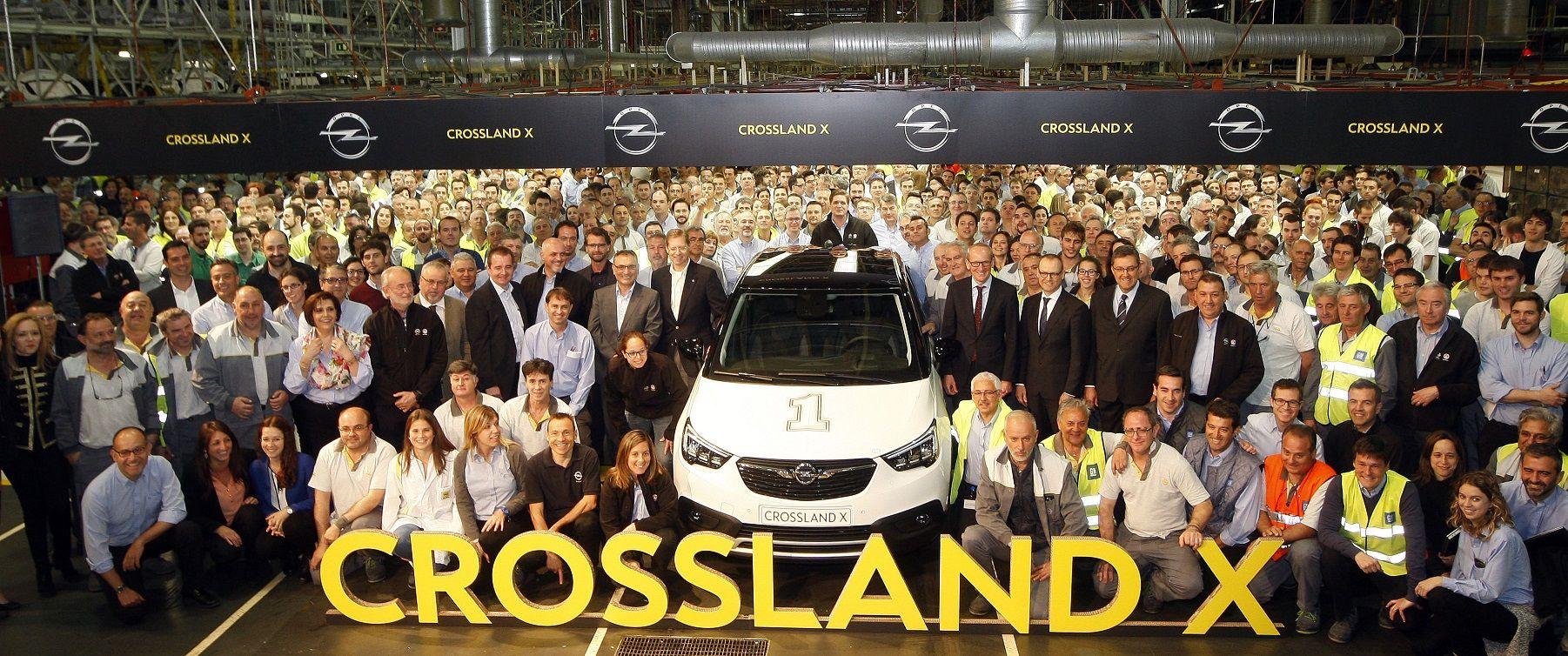 Opel Crossland X from Zaragoza