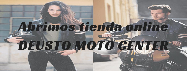 Inauguramos la tienda online de Deusto Moto Center