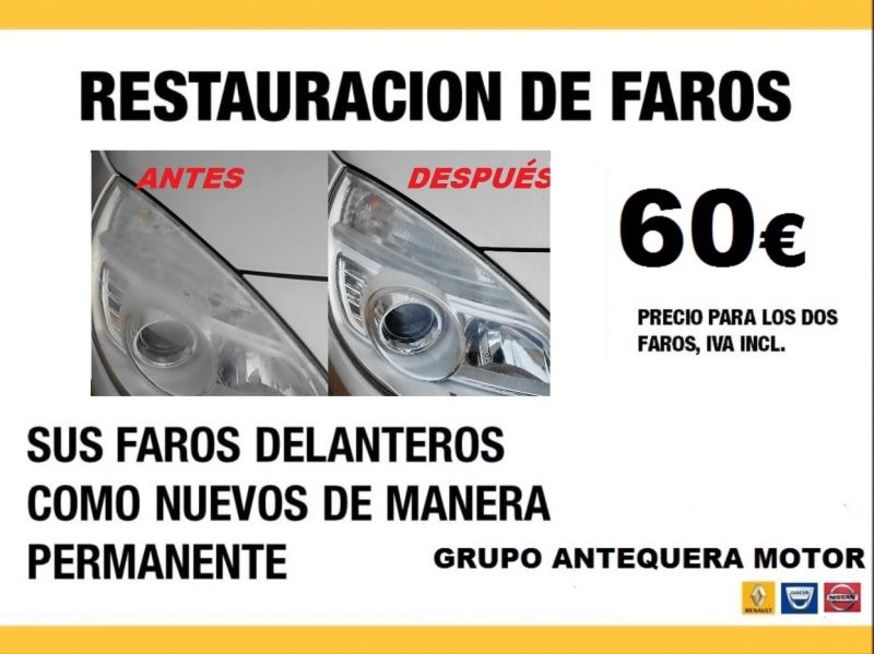 TODAS LAS MARCAS. RESTAURACIÓN DE FAROS