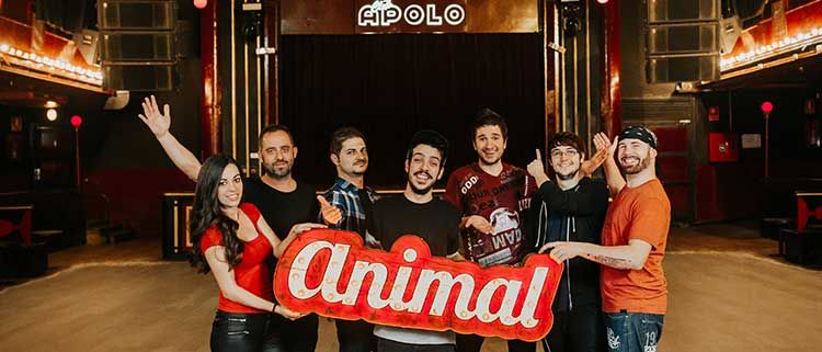 Sorteo de 1 entrada doble para Animal