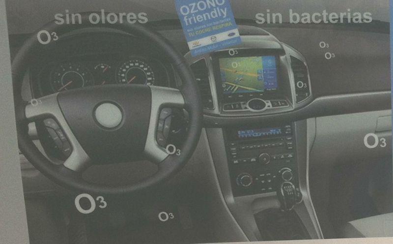 CARGA DE OZONO GRATIS