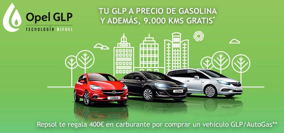 Las ventajas de conducir un vehículo Opel GLP o autogas
