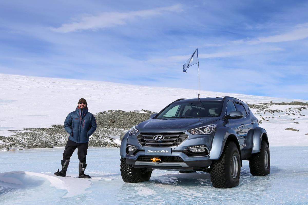 Hyundai Santa Fe superando retos y cumpliendo sueños en la Antártida