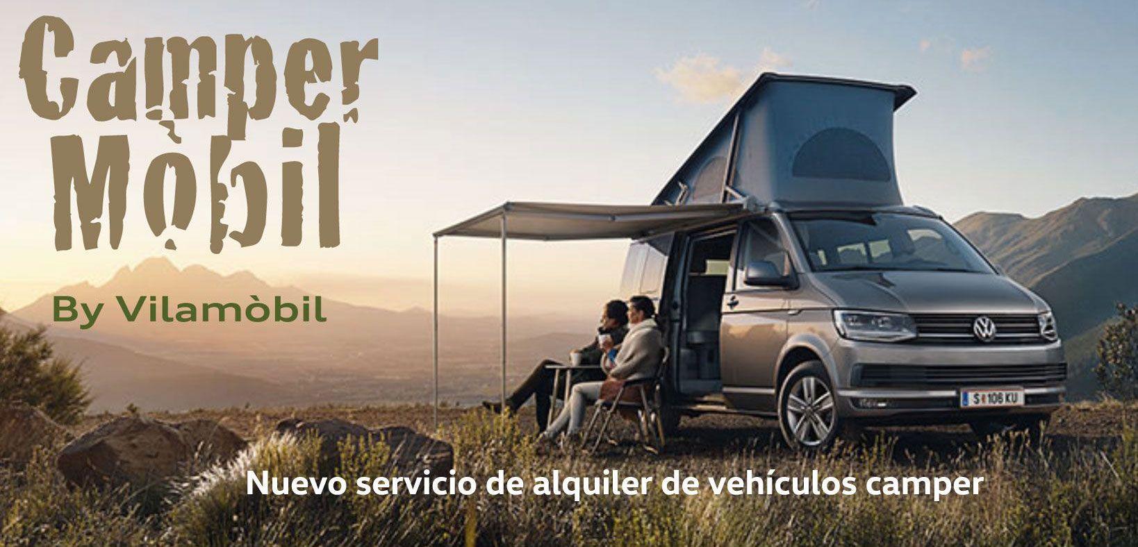 Campermóbil, alquiler de vehiculos camper
