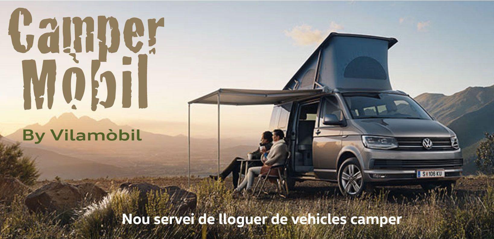 Campermòbil, lloguer de vehicles camper