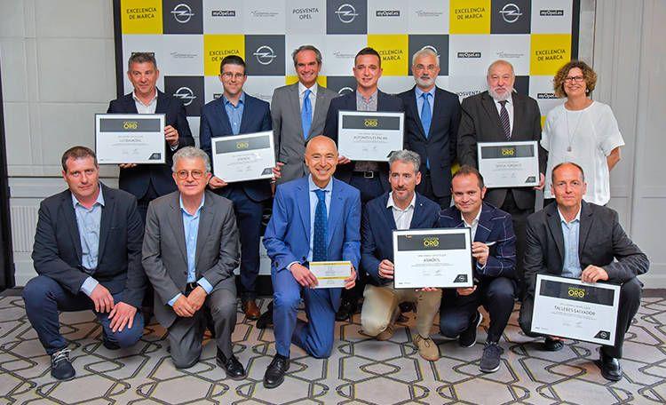 """Opel Palma revalida el galardón """"Reparador Oro de España 2017"""""""