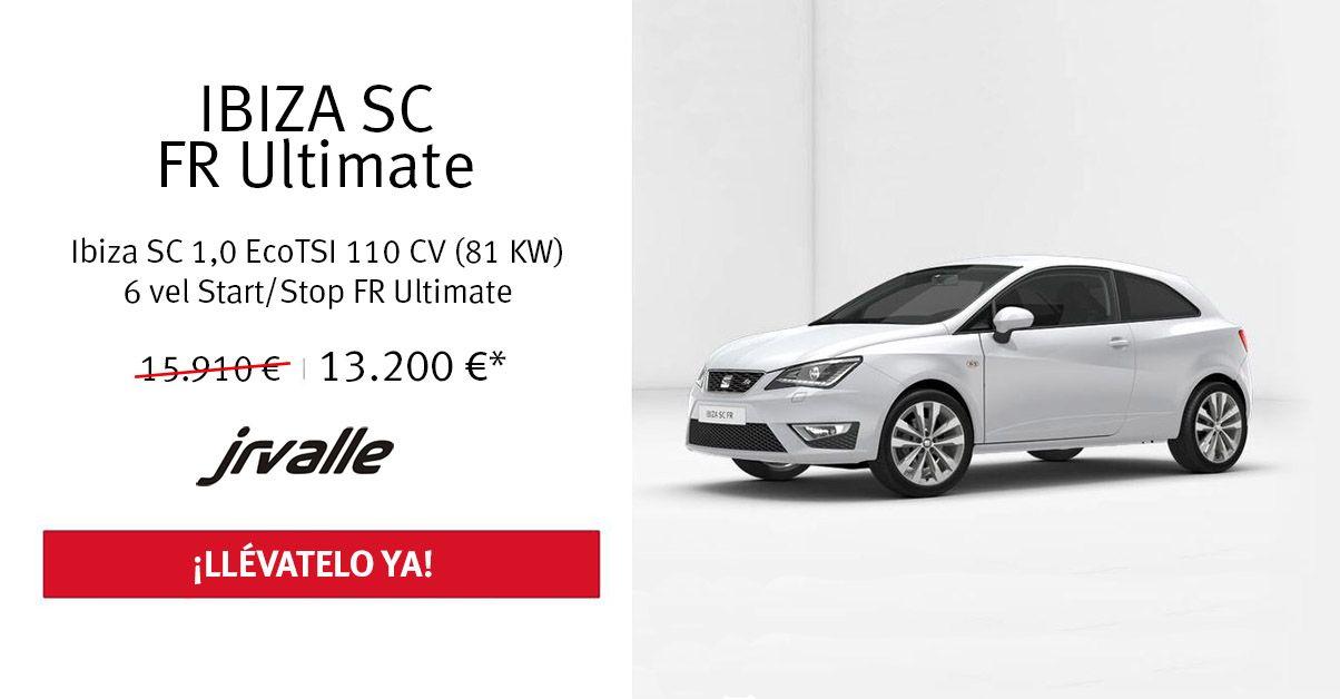SEAT Ibiza SC FR 1.0 EcoTSI 110 CV por 13.200€
