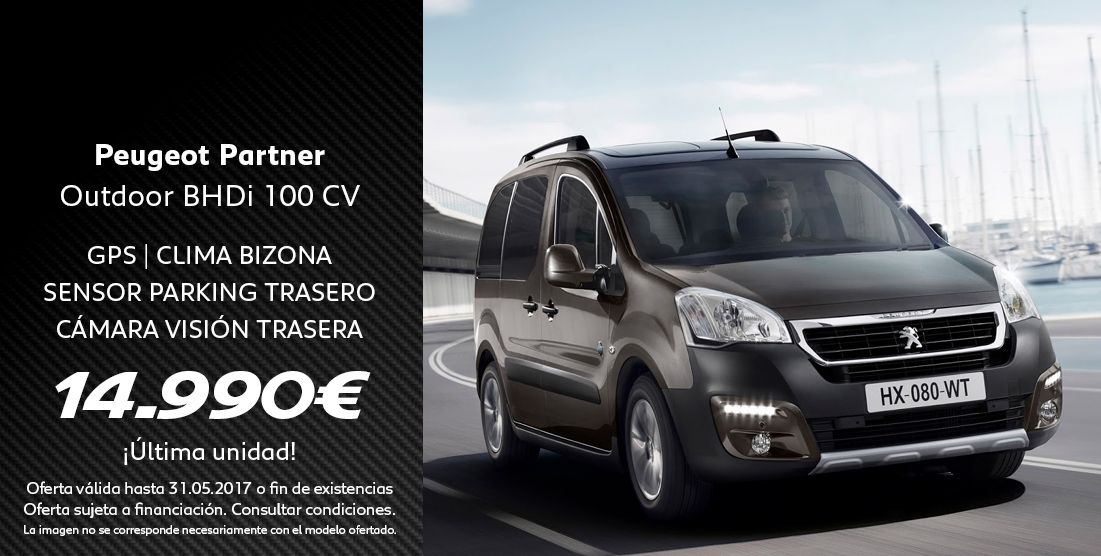 PEUGEOT PARTNER OUTDOOR