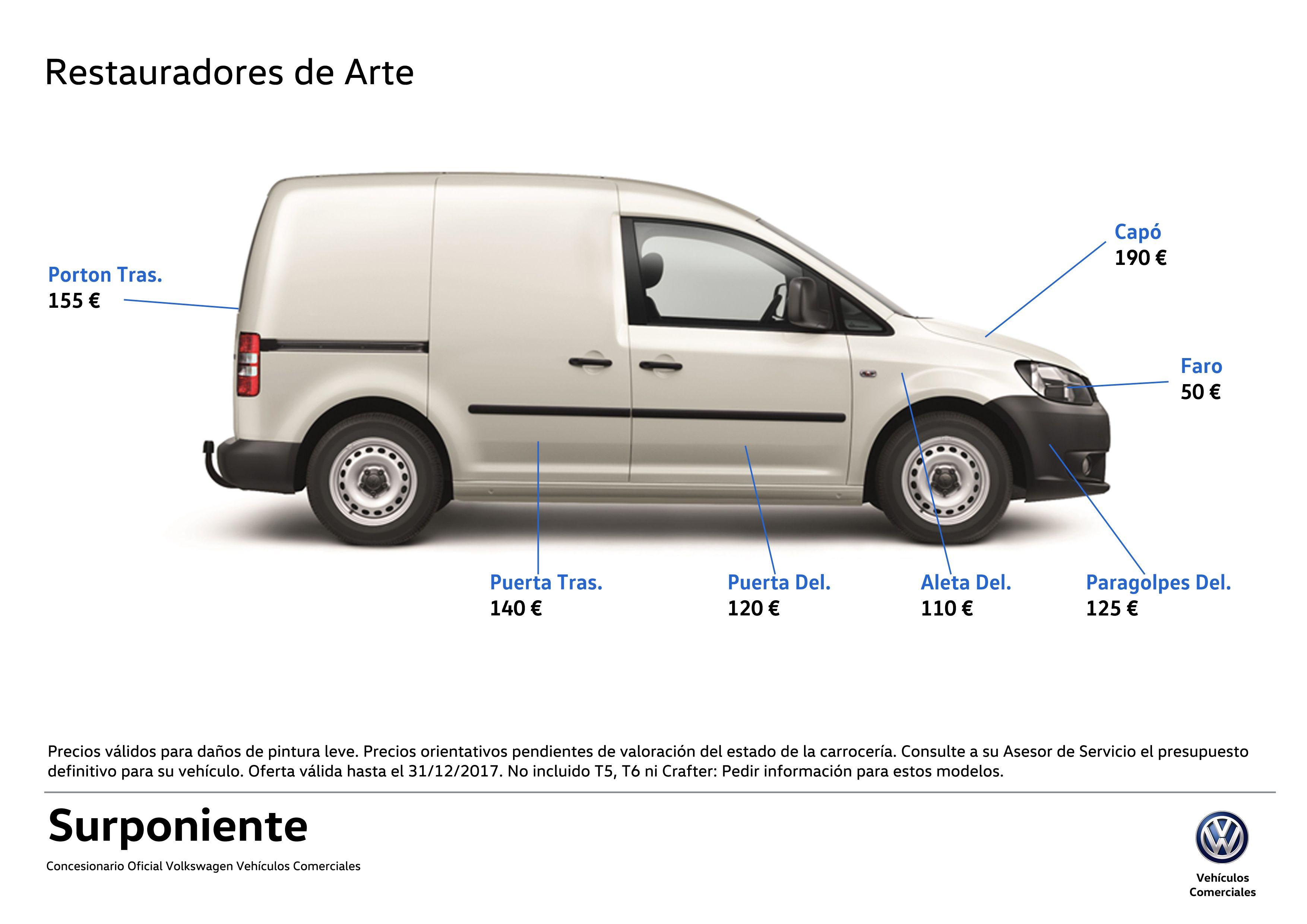 Vehiculos Comerciales. Restauradores de Arte