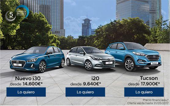 Cambia a Hyundai i consigue más por tu coche actual. Sólo hasta fin de mes.