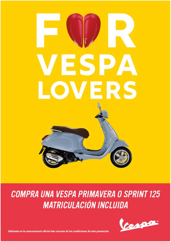 Nueva promoción de Vespa Primavera y Sprint para Junio.