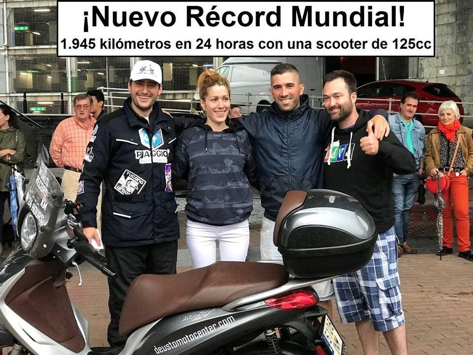 Hemos traído un record mundial a Bilbao