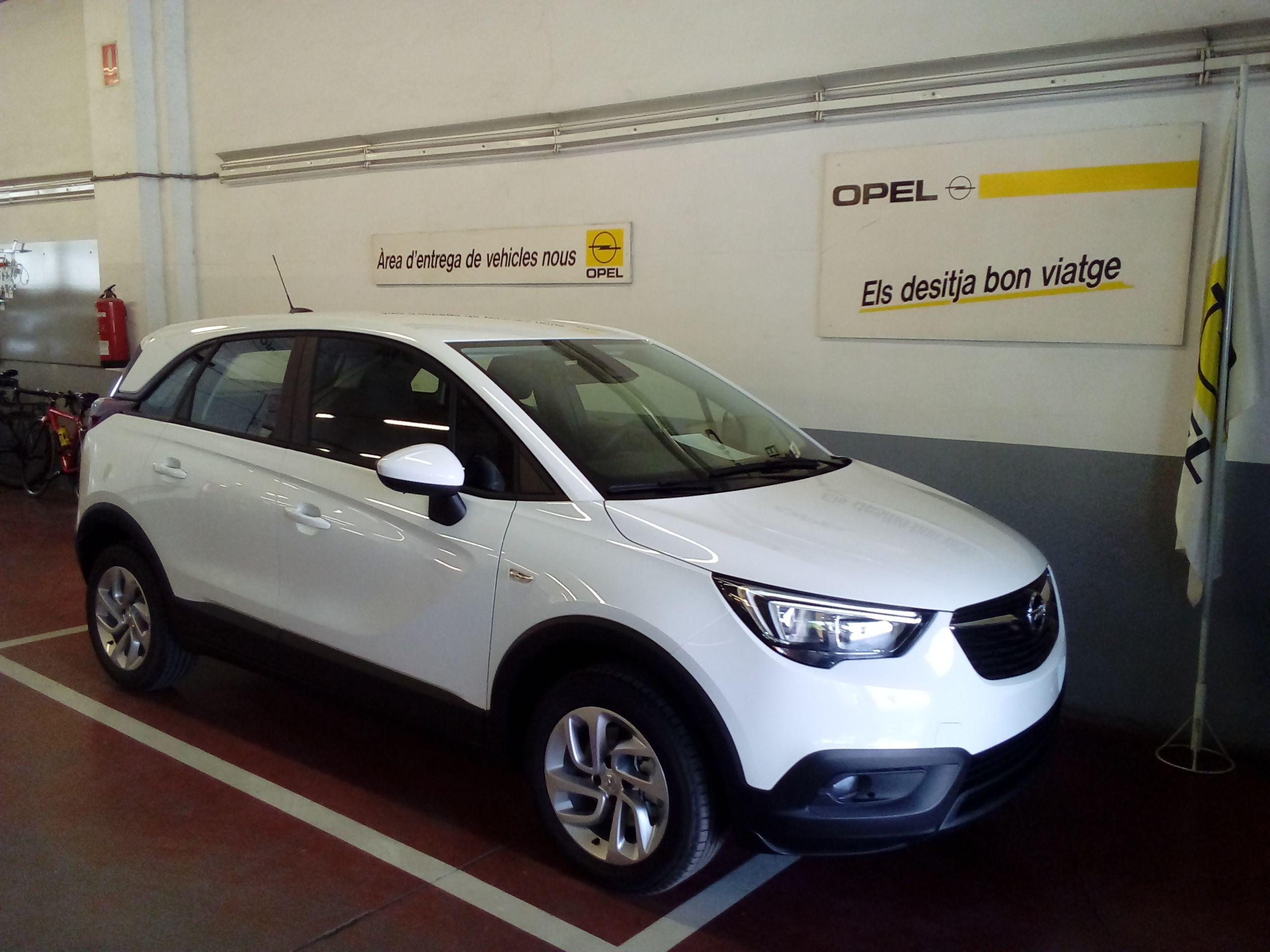 NOU  Opel Crossland X, disseny urbà vine i descobreix-lo