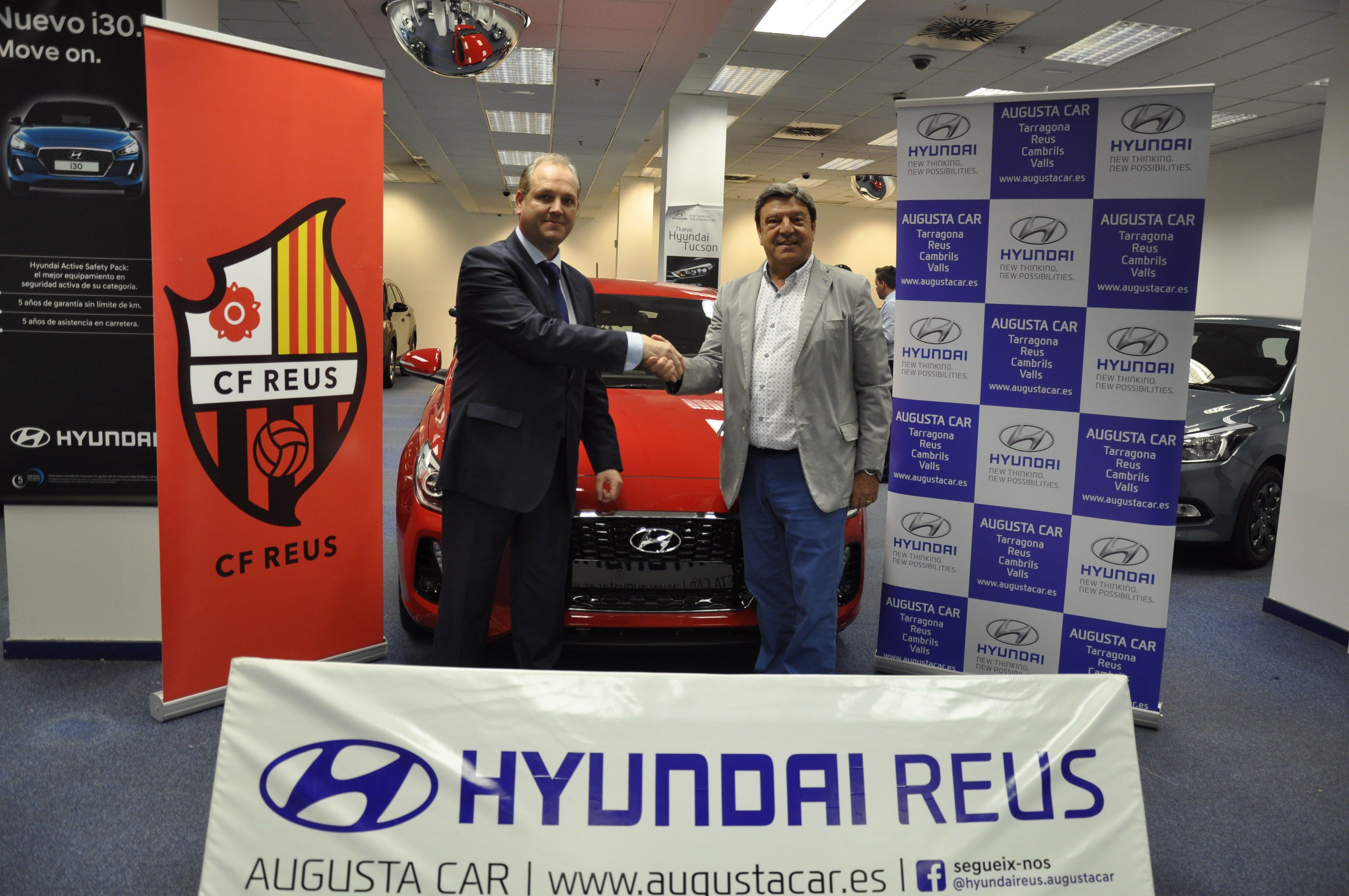 Hyundai Augusta Car i el CF Reus renoven l'acord de col·laboració per la temporada 2017/2018