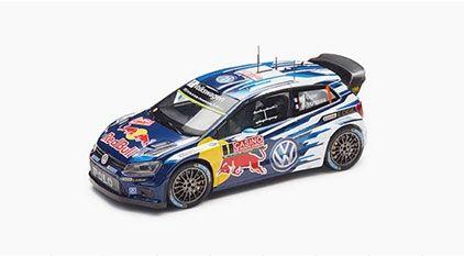 MINIATURA POLO R WRC