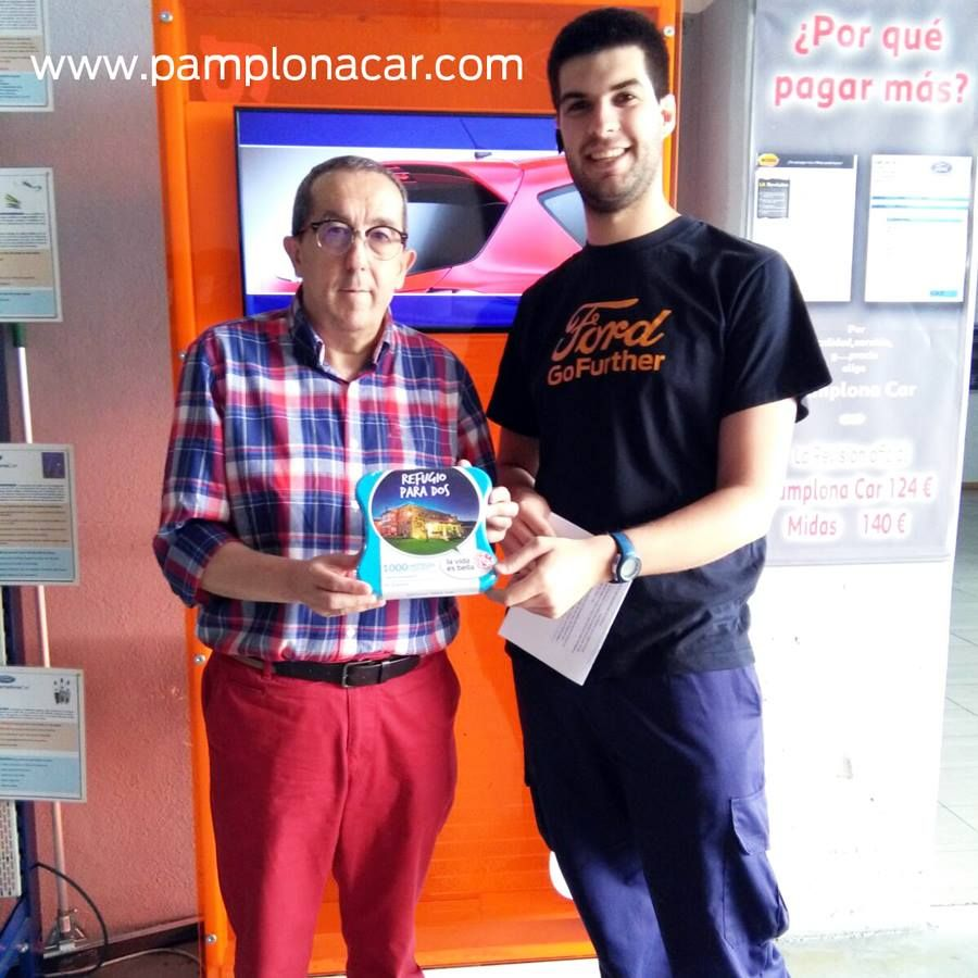 ¡Venir a taller en Pamplona Car tiene premio!