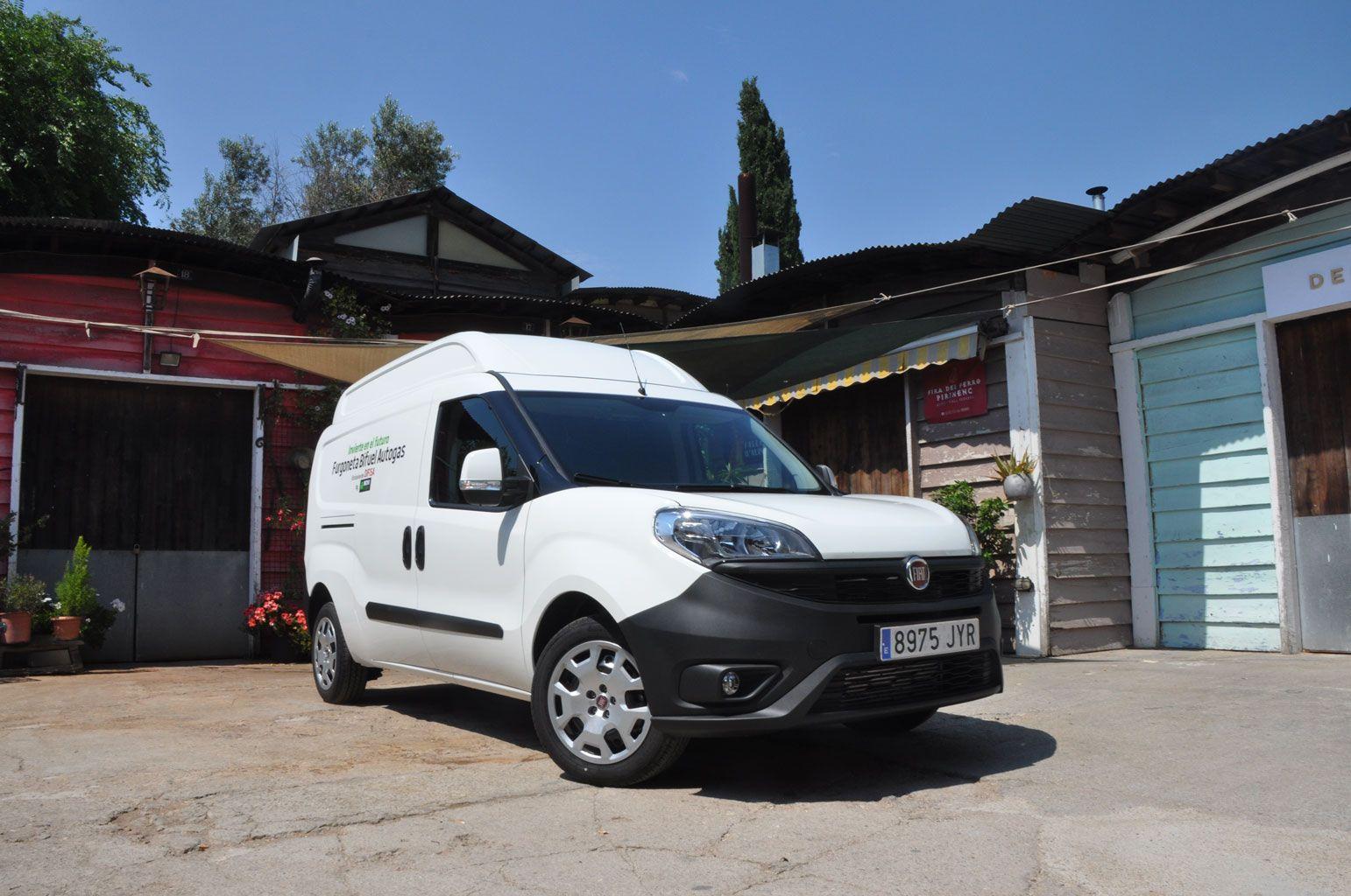 Prueba Fiat Doblo Cargo XL SX GLP