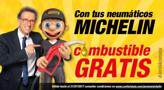 COMBUSTIBLE GRATIS AL MONTAR TUS NEUMATICOS MICHELIN EN HERMANOS SALVADOR , BASAURI , VIZCAYA