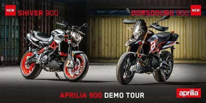 El 16 de Septiembre el Aprilia 900 Demo Tour llega a Bilbao