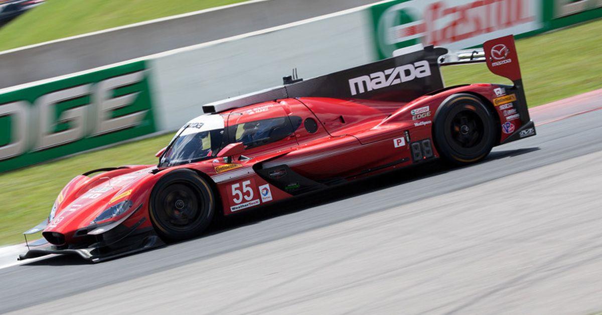 El Mazda RT24-P Prototype competirá en la serie IMSA 2018 bajo la bandera de Mazda Team Joest