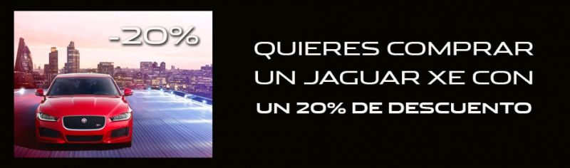 JAGUAR XE CON 20 % DE DESCUENTO
