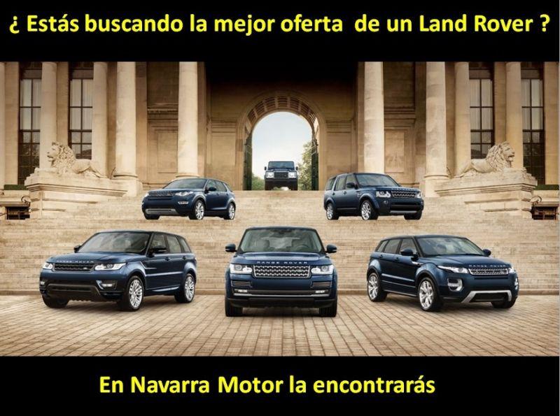 LA MEJOR OFERTA PARA TU LAND ROVER EN NAVARRA MOTOR