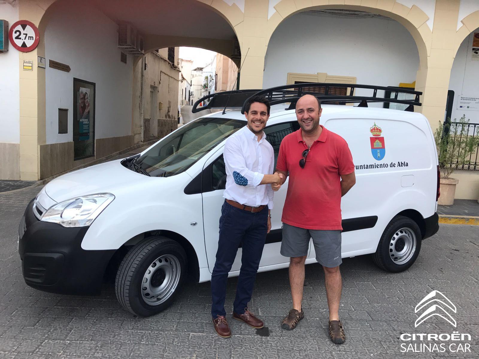 El Ayuntamiento de Abla confía en Citroën Salinas Car