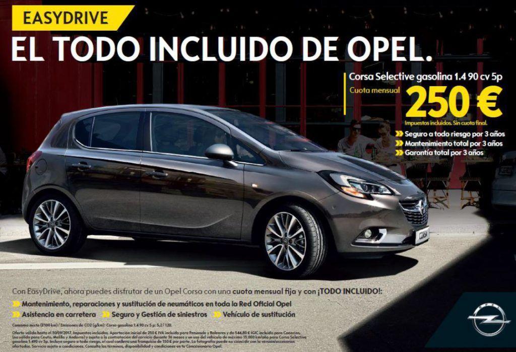 EASYDRIVE, el todo incluido de Opel