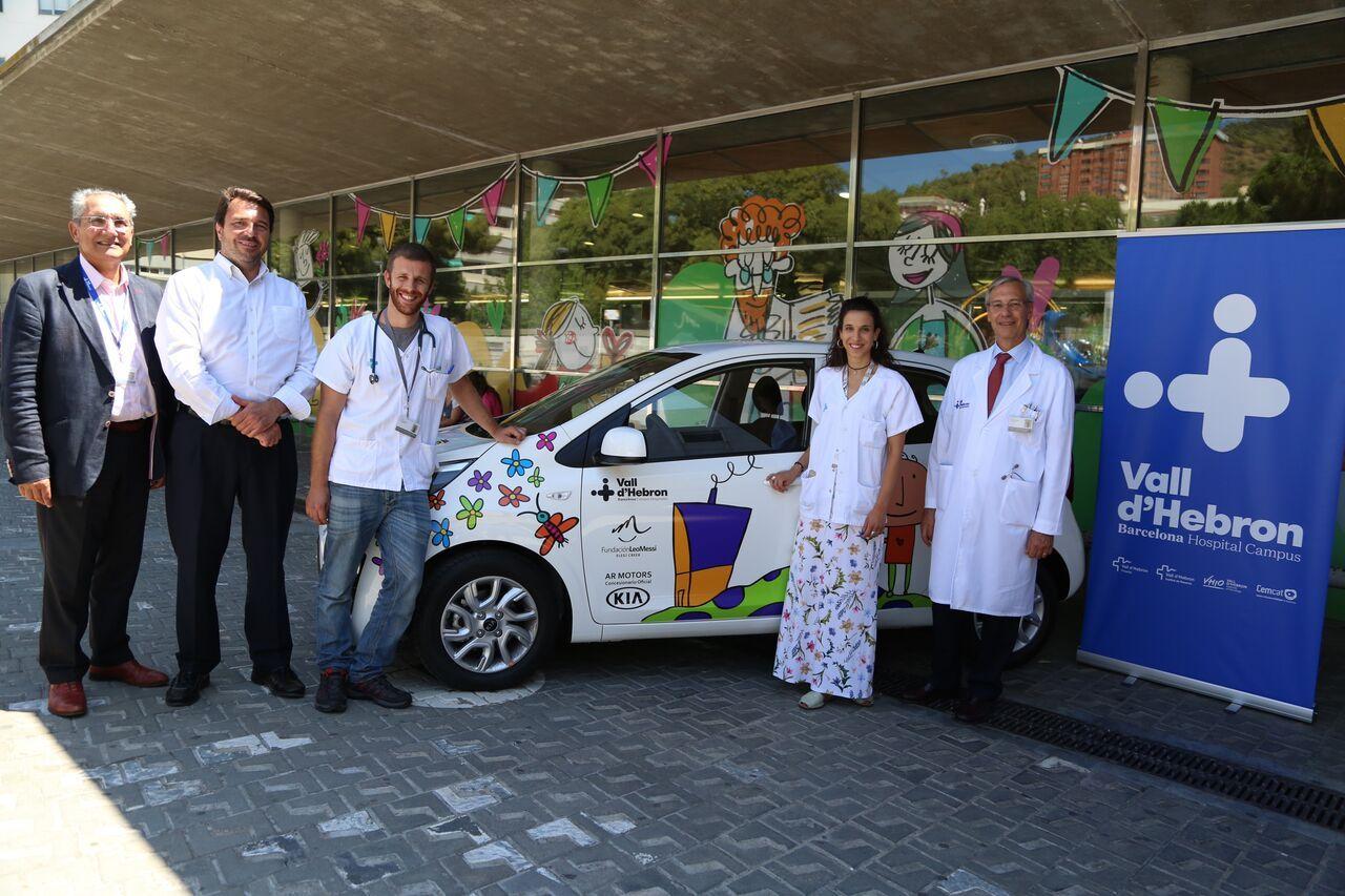 Renovamos vehículo para atención domiciliaria en Hospital Universitario Vall d'Hebrón